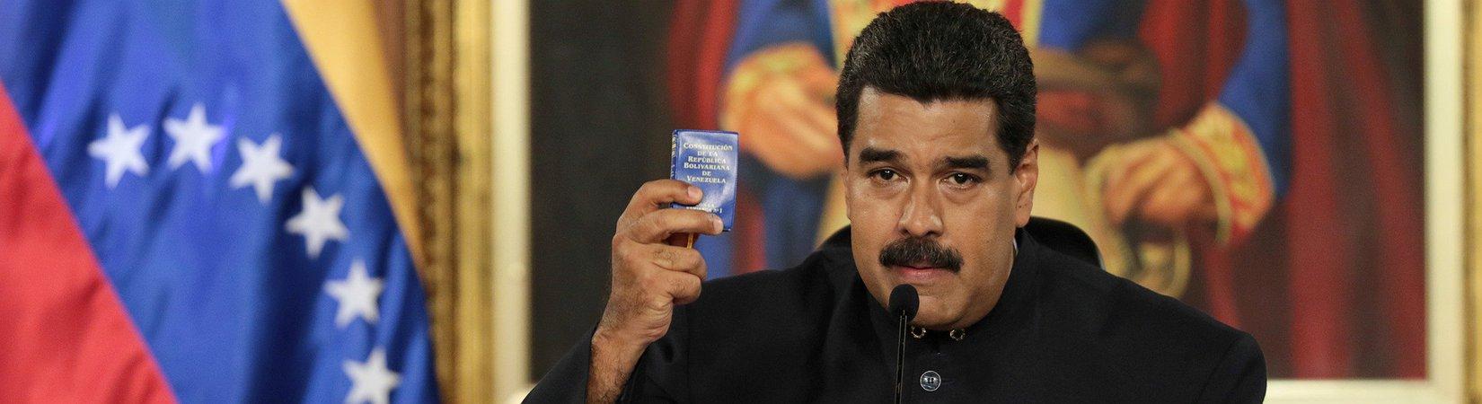 Nicolas Maduro vuole una nuova Costituzione
