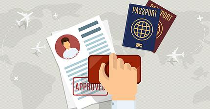Инфографика: Самые влиятельные паспорта мира