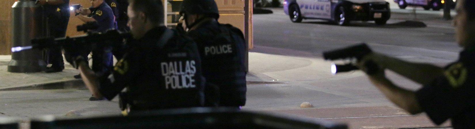 4 policías son abatidos en una manifestación en Dallas