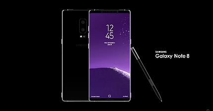 В Сети появились изображения концепта Samsung Note 8