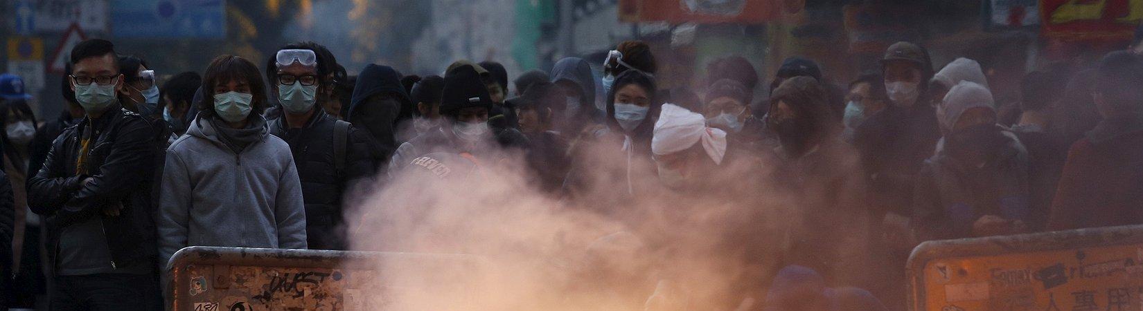 FOTO: Unruhen in Hong Kong