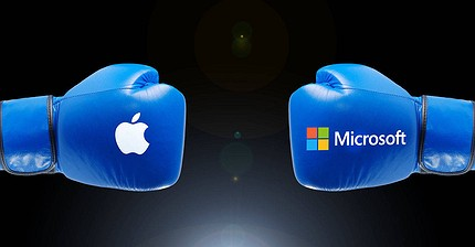 Batalla de dividendos: Apple vs. Microsoft