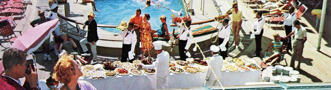 Fotografías vintage que muestran el glamour de los antiguos cruceros