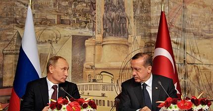 La reunión entre Erdogan y Putin en San Petersburgo