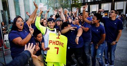 iPhone 7 стал самым продаваемым смартфоном в мире
