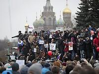 #онвамнедимон. Всероссийская акция протеста в фотографиях