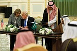 Boeing 'inks up to $110 billion in deals' with Saudi Arabia