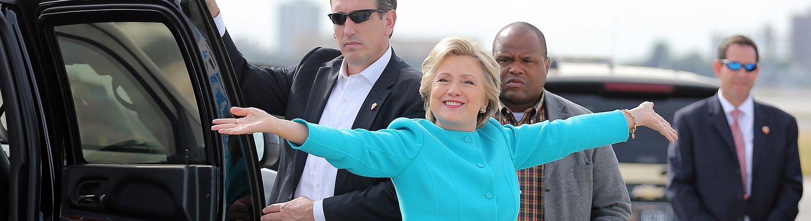 Märkte reagieren positiv auf die Einstellung der Ermittlungen gegen Clinton