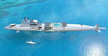Полное погружение в мир роскоши: Субмарина за $2,3 млрд