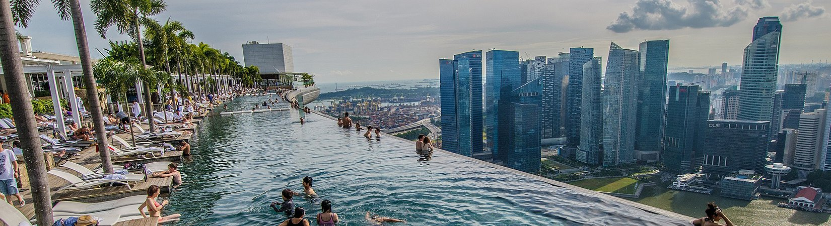 Las 12 piscinas de hotel más lujosas del mundo