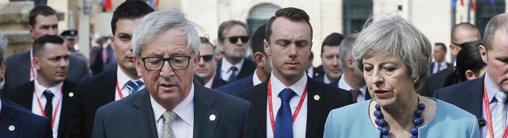 Jean-Claude Juncker, presidente da Comissão Europeia, lançou dúvidas sobre a União Europeia
