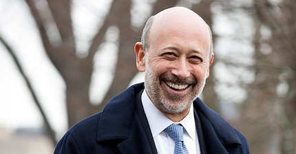 Goldman Sachs CEO's message to the young: chill out