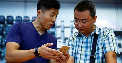 Apple perde quota in Cina