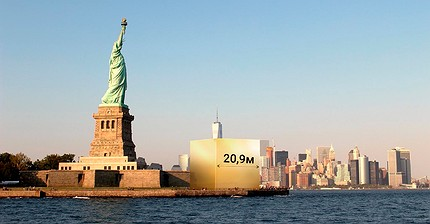 Infografía: 11 impresionantes imágenes sobre el valor y la rareza del oro