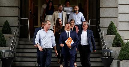 Ciudadanos presenta una serie de condiciones para apoyar la investidura de Rajoy