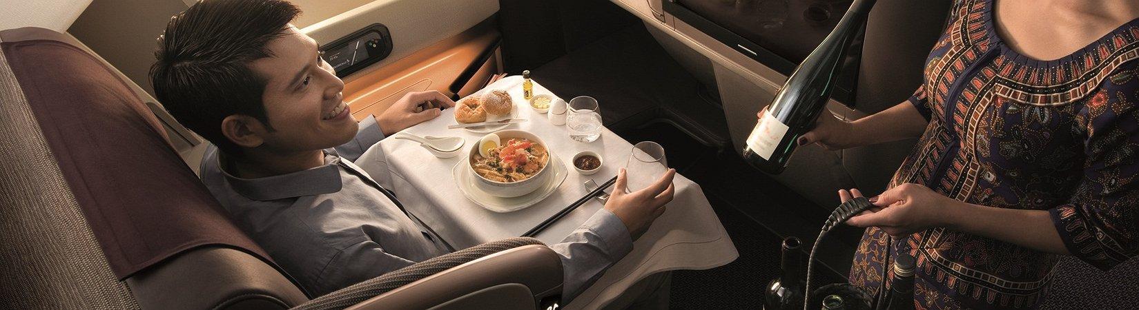 5 شركات طيران بأفضل قوائم طعام