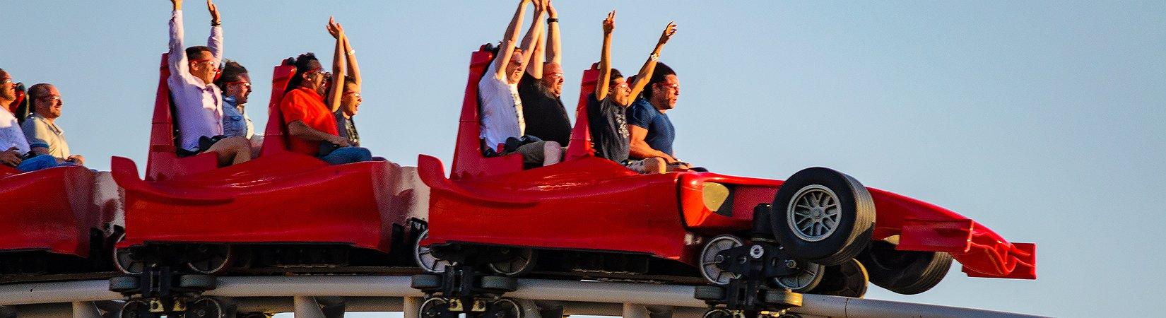 Ferrari Land è un sogno per gli amanti delle auto da corsa