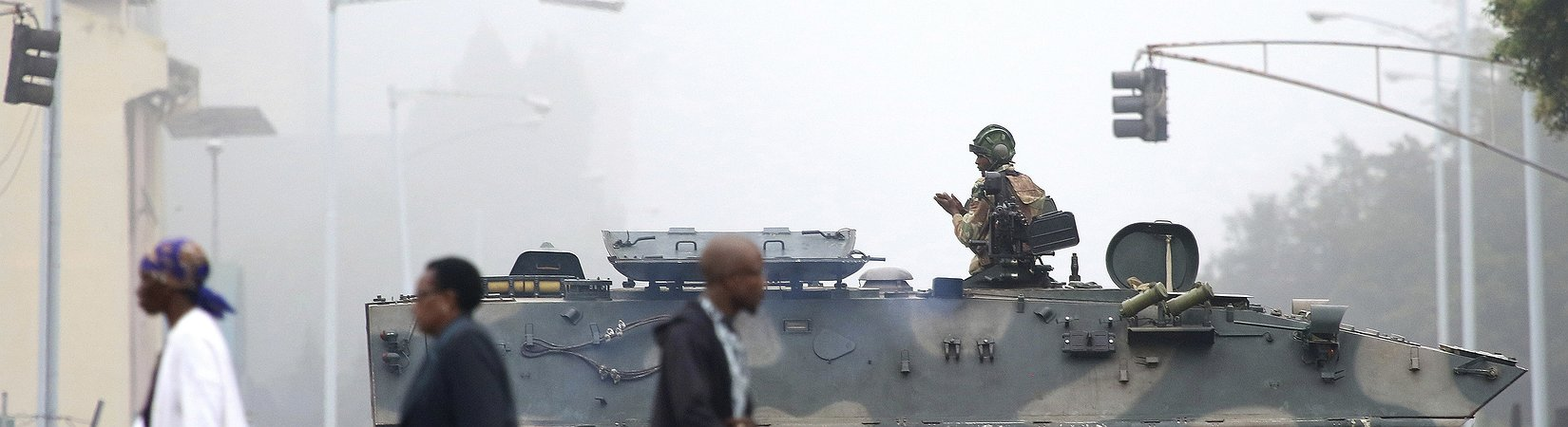 Tensão política intensifica-se no Zimbabwe