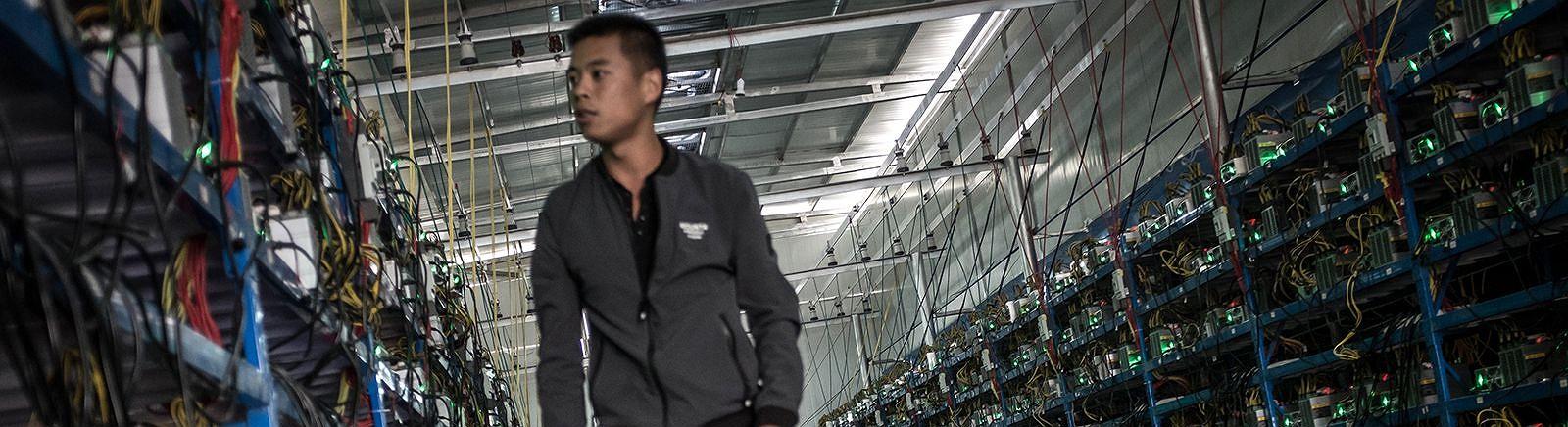 Como vivem os mineiros de bitcoins na China?
