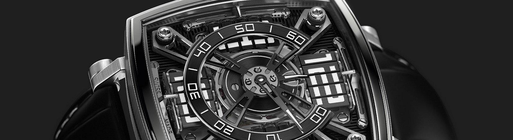Die Uhr mit dem schwärzesten Schwarz der Welt