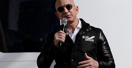 Amazon founder Jeff Bezos closing in on Bill Gates as world's richest man
