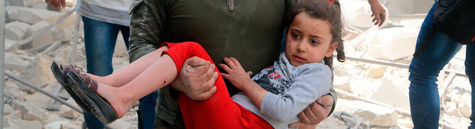 Aleppo bereitet sich auf den Krieg vor