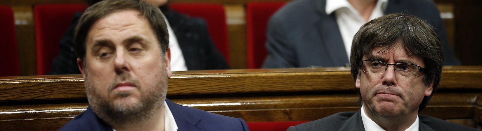 Aumenta la tensión entre Puigdemont y Junqueras