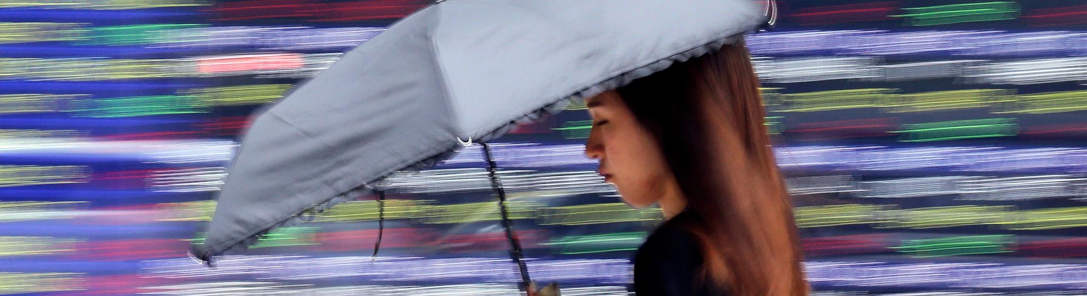 Черный понедельник: На фондовых рынках Китая произошел обвал