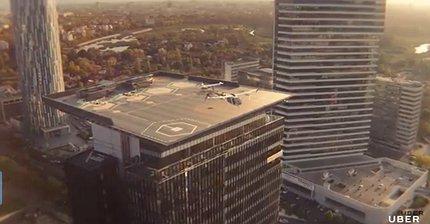 Uber Elevate: компания показала видео проекта летающего такси