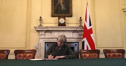 Тереза Мэй запустила Brexit