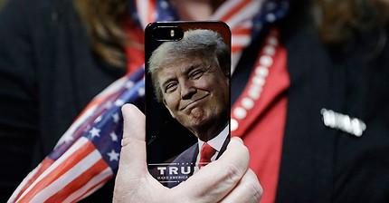 Gli account Twitter seguiti da Donald Trump