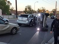 Uber suspends driverless vehicle program after car crash