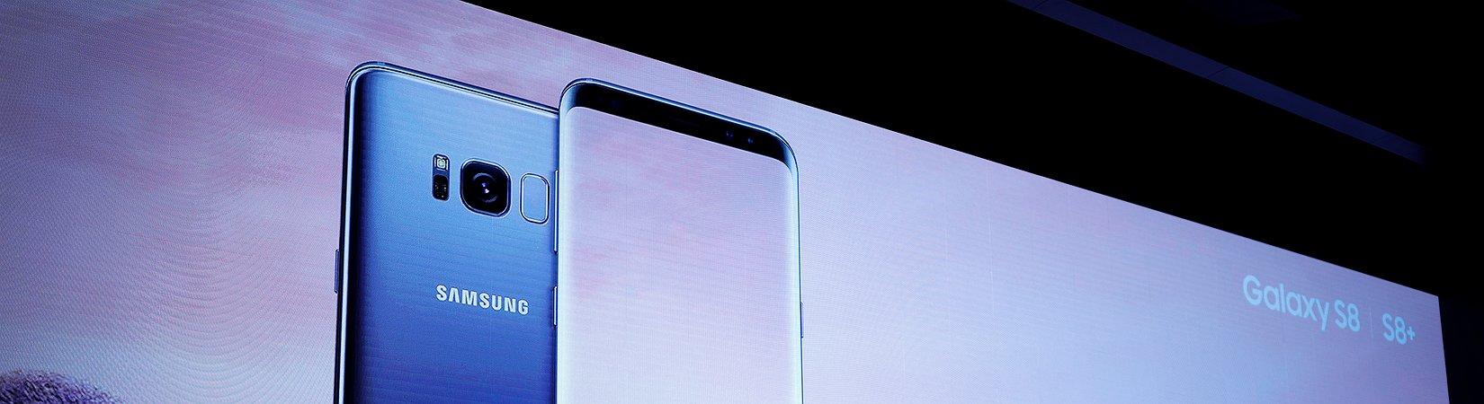 لماذا شاشة Samsung Galaxy S8 أفضل من شاشة iPhone