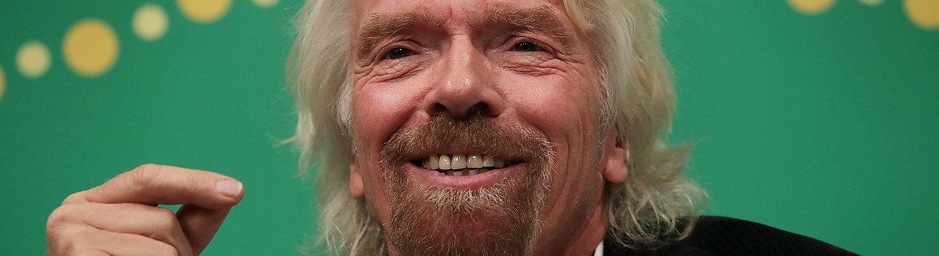 Richard Branson scrive in 4 lettere come farcela nel mondo degli affari