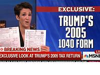 Trump tax return for 2005 revealed