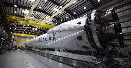 SpaceX снова попробует посадить Falcon 9