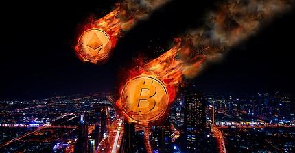 Курсы основных криптовалют рухнули