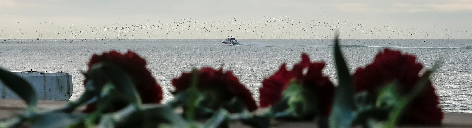 Localizan una caja negra del avión ruso que se estrelló en el mar Negro