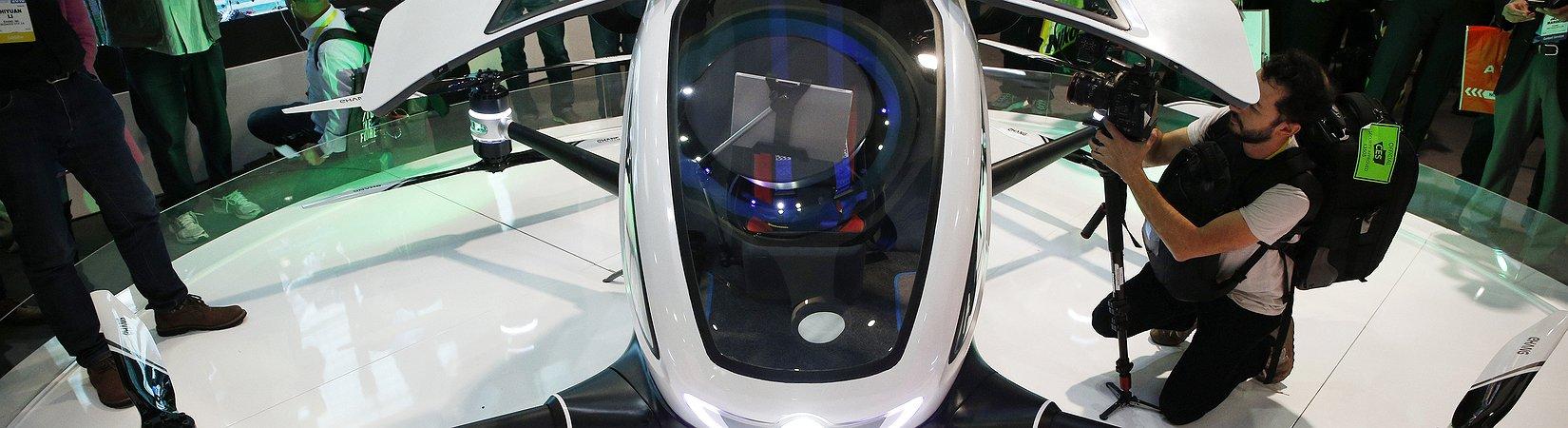 Dubai prevê lançar táxi voador, autônomo, ainda este ano