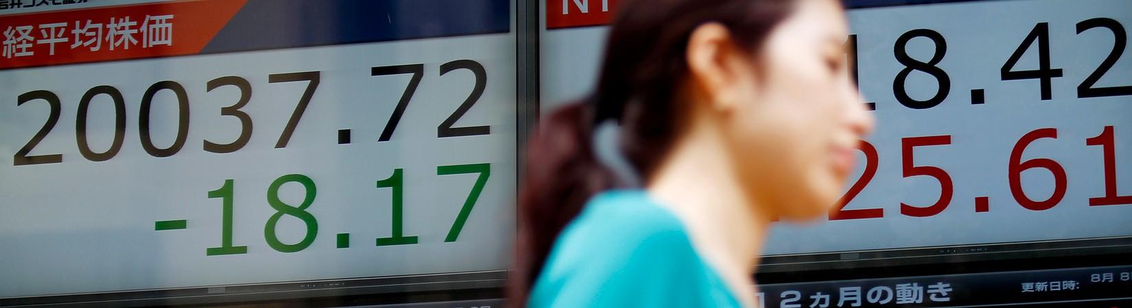 Азиатские рынки падают на фоне обострения отношений между США и КНДР