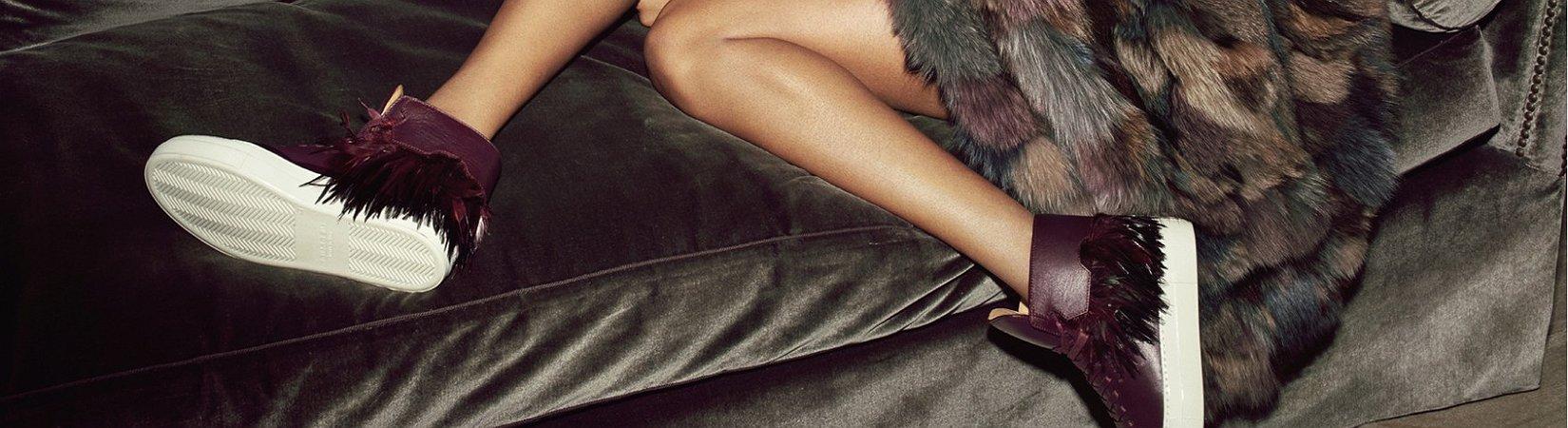 Conoce la marca de lujo Buscemi: zapatillas de deporte con diamantes por 132.000 $