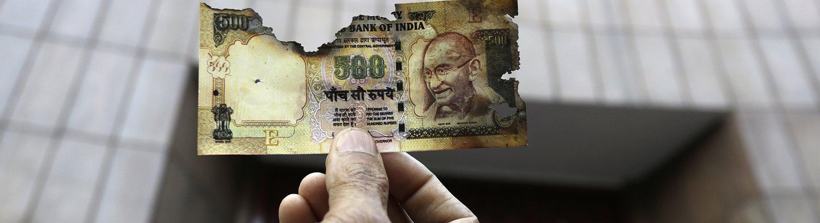 ¿Por qué la retirada de los billetes indios de 500 y 1.000 es tan  importante?