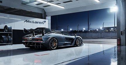 Игрушка для миллионеров: Что известно о гиперкаре McLaren Senna за $1 млн