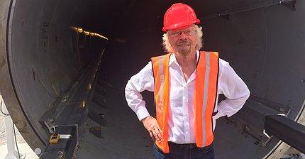 Ричард Брэнсон инвестировал в Hyperloop One Илона Маска