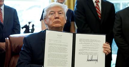 Trump amenaza con aranceles a la importación de acero chino