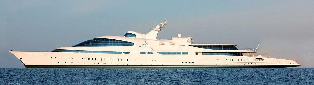 Die längsten Luxusyachten der Welt