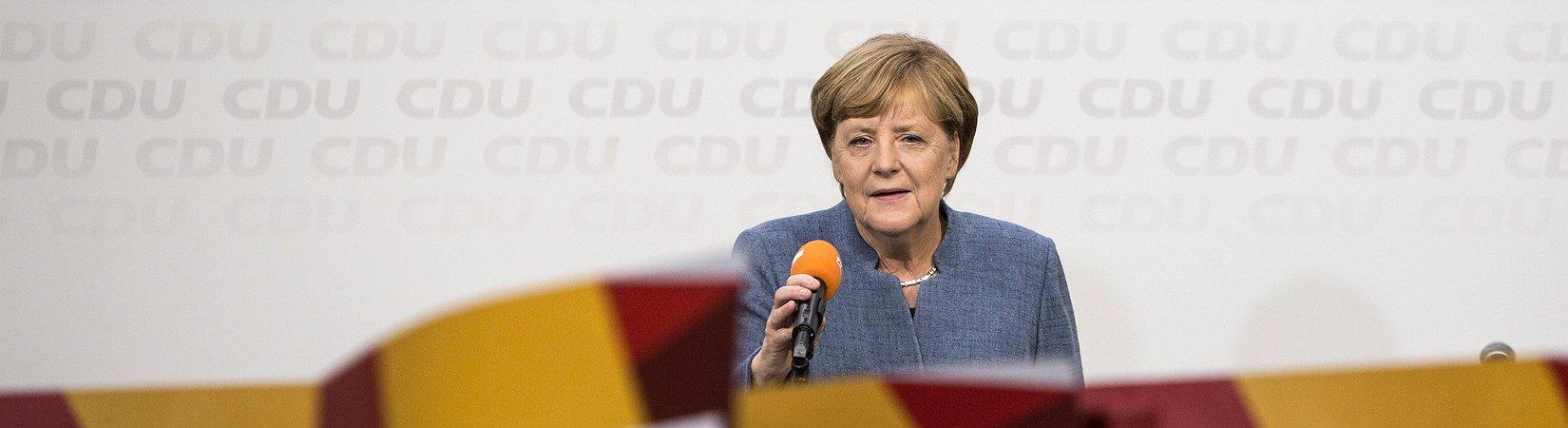 Angela Merkel venceu as eleições na Alemanha