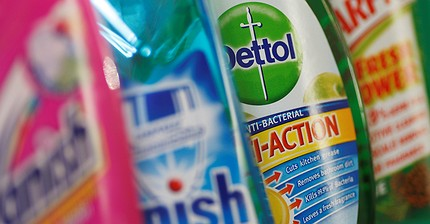 Reckitt Benckiser fails to post quarterly sales growth for first time