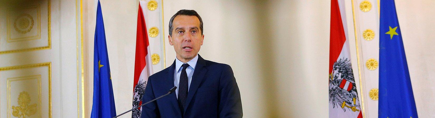 El canciller austríaco propone suspender las negociaciones de adhesión de Turquía a la UE