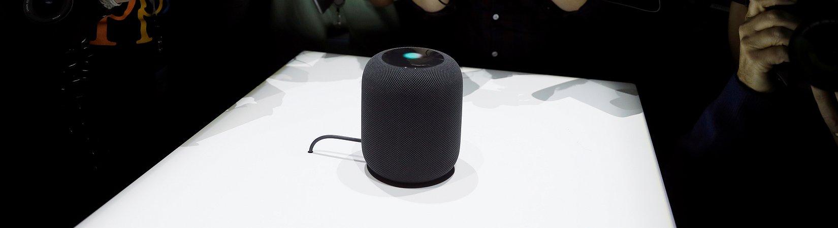 Apple revelou o HomePod, o seu novo assistente digital